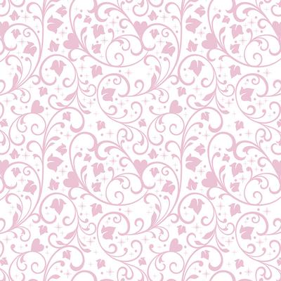 Dutch Wallcoverings Dutch Disney Princess flourishes pattern behang WPD 9743