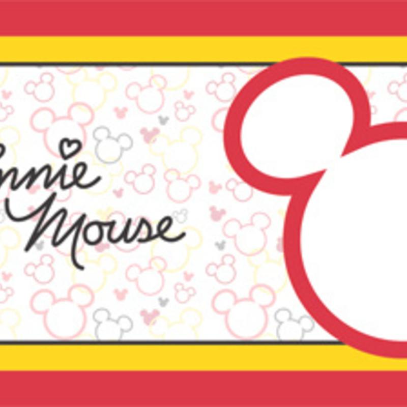 Dutch Wallcoverings Dutch Disney Mickey & Minnie Mouse behangrand WBD 8068