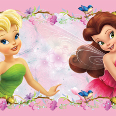 Dutch Wallcoverings Dutch Disney Fairies behangrand WBD 8062