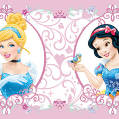 Dutch Wallcoverings Dutch Disney Princess behangrand WBD 8065