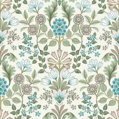 Dutch Wallcoverings Dutch Escapade behang Bloemen A41401