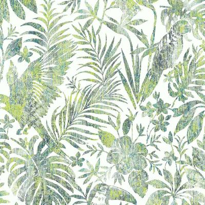 Dutch Wallcoverings Dutch Escapade behang Toekan en Papegaai L68504