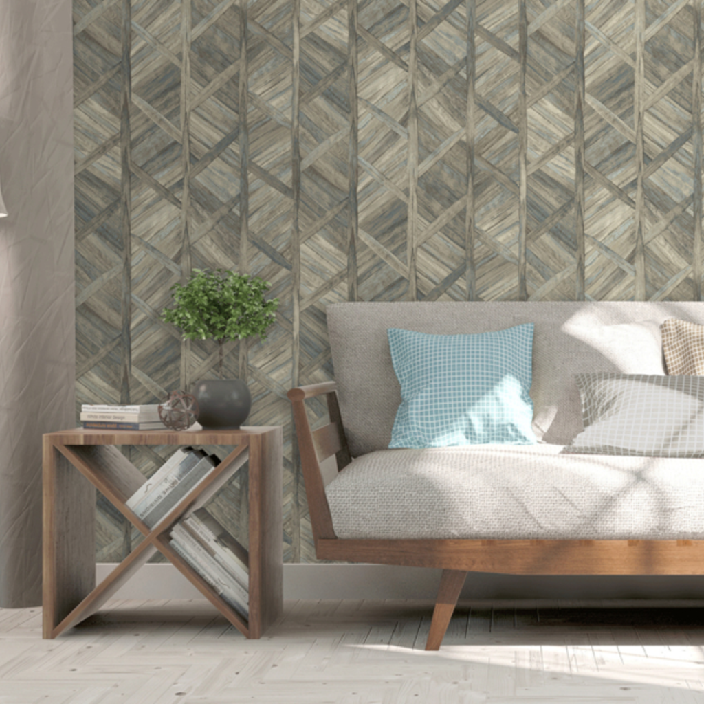 Dutch Wallcoverings Dutch Escapade behang Hout L61608