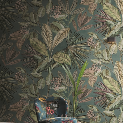 BN Wallcoverings BN Panthera Digital 200354 Colourful tropics
