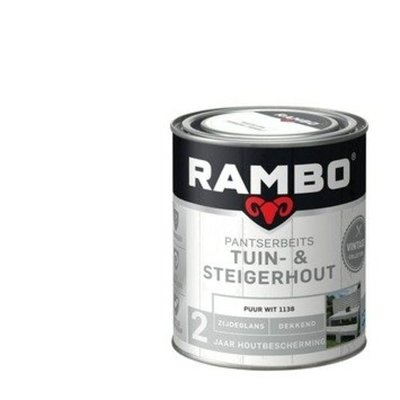 Rambo Rambo Pantserbeits Puur wit