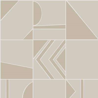 Hooked on Walls Hookedonwalls Tinted Tiles behang Groove 29044