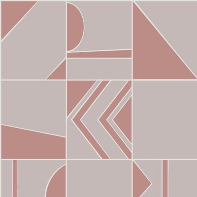 Hooked on Walls Hookedonwalls Tinted Tiles behang Groove 29041