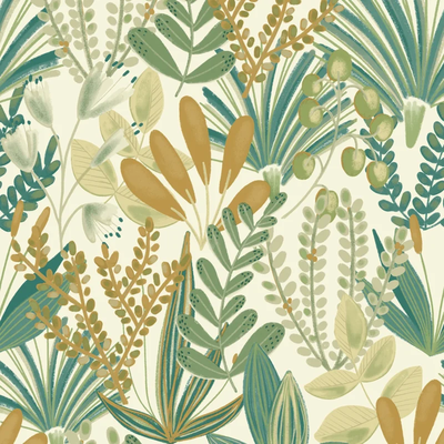 Dutch Wallcoverings Dutch Wallcoverings Jungle Fever behang Early Blossom JF3702