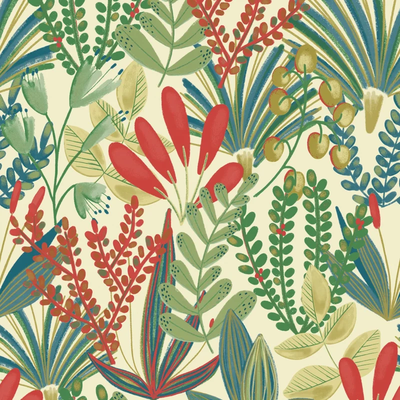 Dutch Wallcoverings Dutch Wallcoverings Jungle Fever behang Early Blossom JF3701
