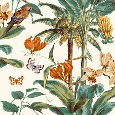 Dutch Wallcoverings Dutch Wallcoverings Jungle Fever behang Tropical Palms JF2002