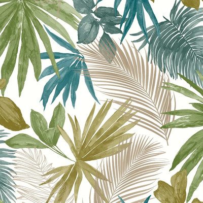 Dutch Wallcoverings Dutch Wallcoverings Jungle Fever behang Wild Palms JF3602