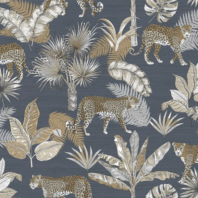 Dutch Wallcoverings Dutch Wallcoverings Jungle Fever behang Leopard JF2102