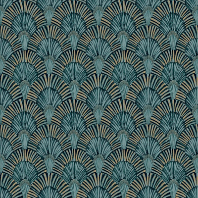Dutch Wallcoverings Dutch Wallcoverings Jungle Fever behang Deco Fan JF3001