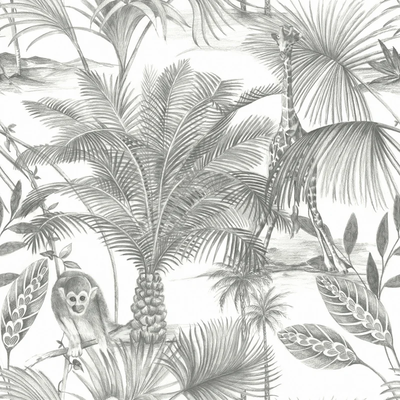 Dutch Wallcoverings Dutch Wallcoverings Jungle Fever behang Kidatu JF3501