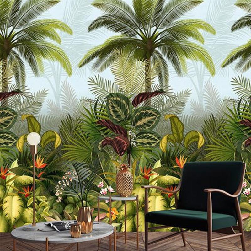 Dutch Wallcoverings Dutch Wallcoverings Jungle Fever Wall Panel Branca JF6001