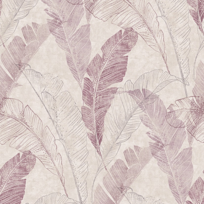 Dutch Wallcoverings Dutch Myriad behang Capri Tropical Leaf Motif MY 2201