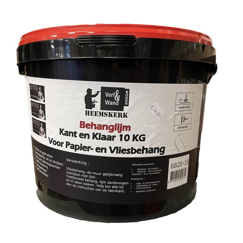 Verf en Wand Heemskerk Behanglijm Kant en Klaar 10kg voor elk behangtype
