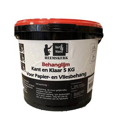 Verf en Wand Heemskerk Behanglijm Kant en Klaar 5kg voor elk behangtype