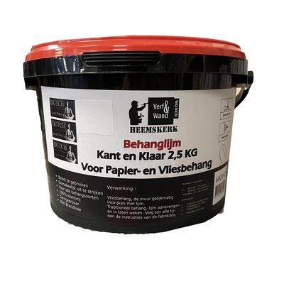 Verf en Wand Heemskerk Behanglijm Kant en Klaar 2,5kg voor elk behangtype