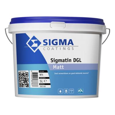 Sigma Coatings Sigmatin DGL Muurverf mat Mengkleur