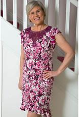 MICHAELA LOUISA Floral Patterned Crochet Top Dress