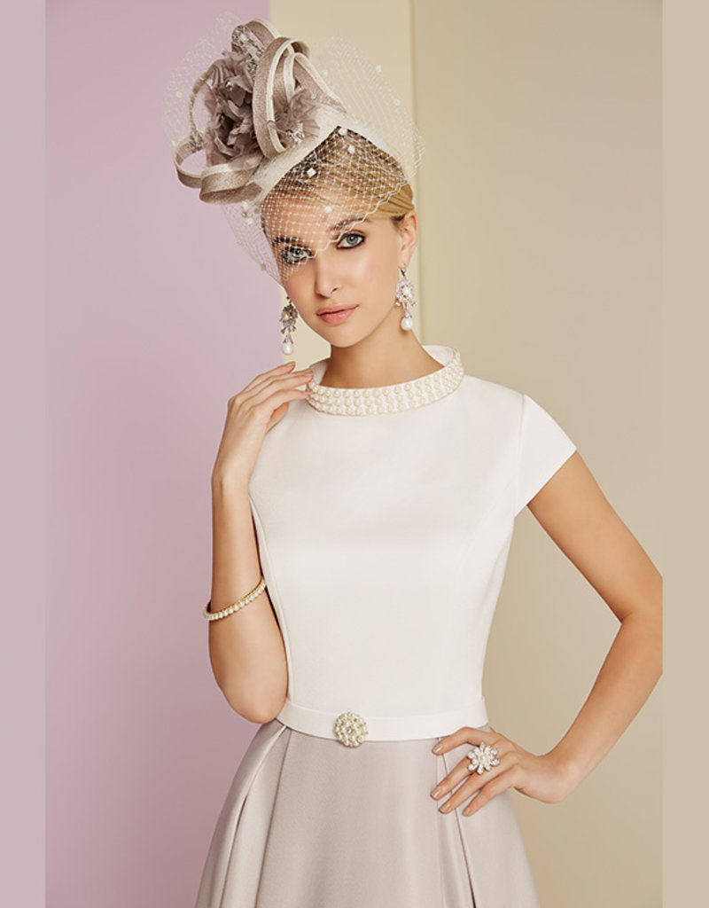Invitations by Veni Dress With Neck Pearls