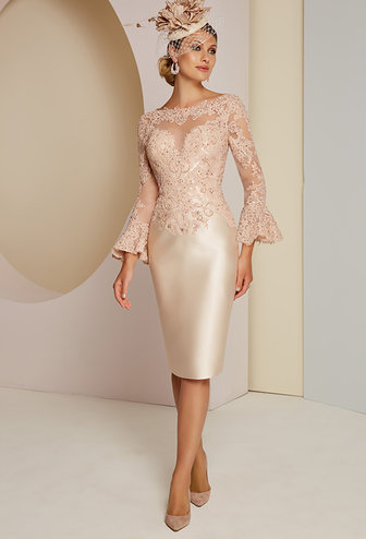 Veni Infantino Dress With Lace Detail