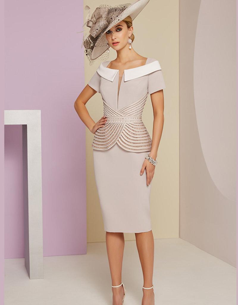 Veni Infantino Dress With Swirl Detail