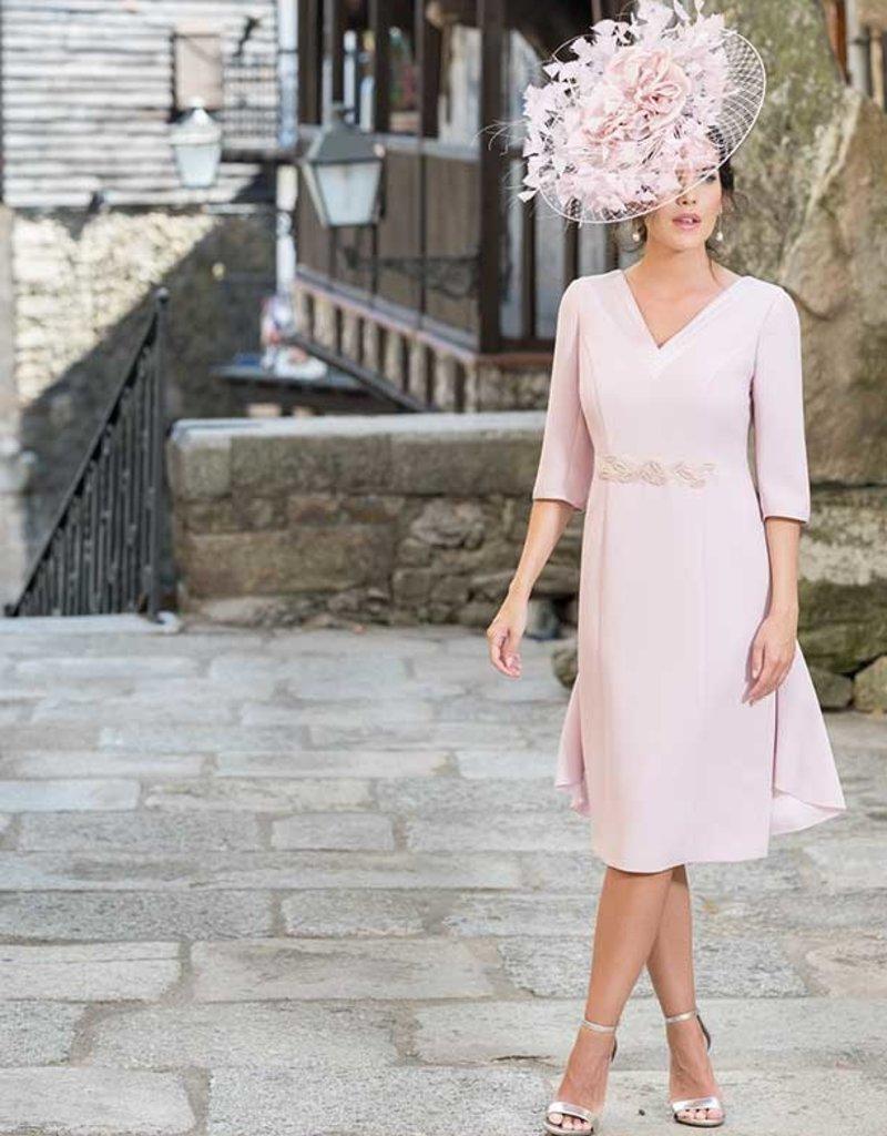 Carmen Melero Dress With Bead Detail