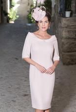 Carmen Melero Dress With Diamante Collar