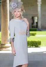 Carmen Melero Dress With Diamond Detail