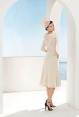 Couture Club Dress With Cross Detail