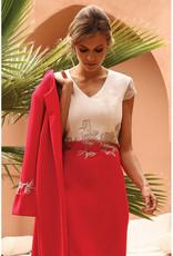 LINEA RAFFAELLI Two Piece with Lace & Bow