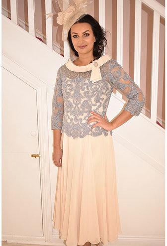 Veni Infantino Dress With Chiffon Skirt