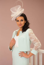 LINEA RAFFAELLI Mint Two Piece with Sequinned Sleeve