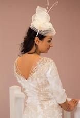 JOHN CHARLES Textured Dress with Ruching