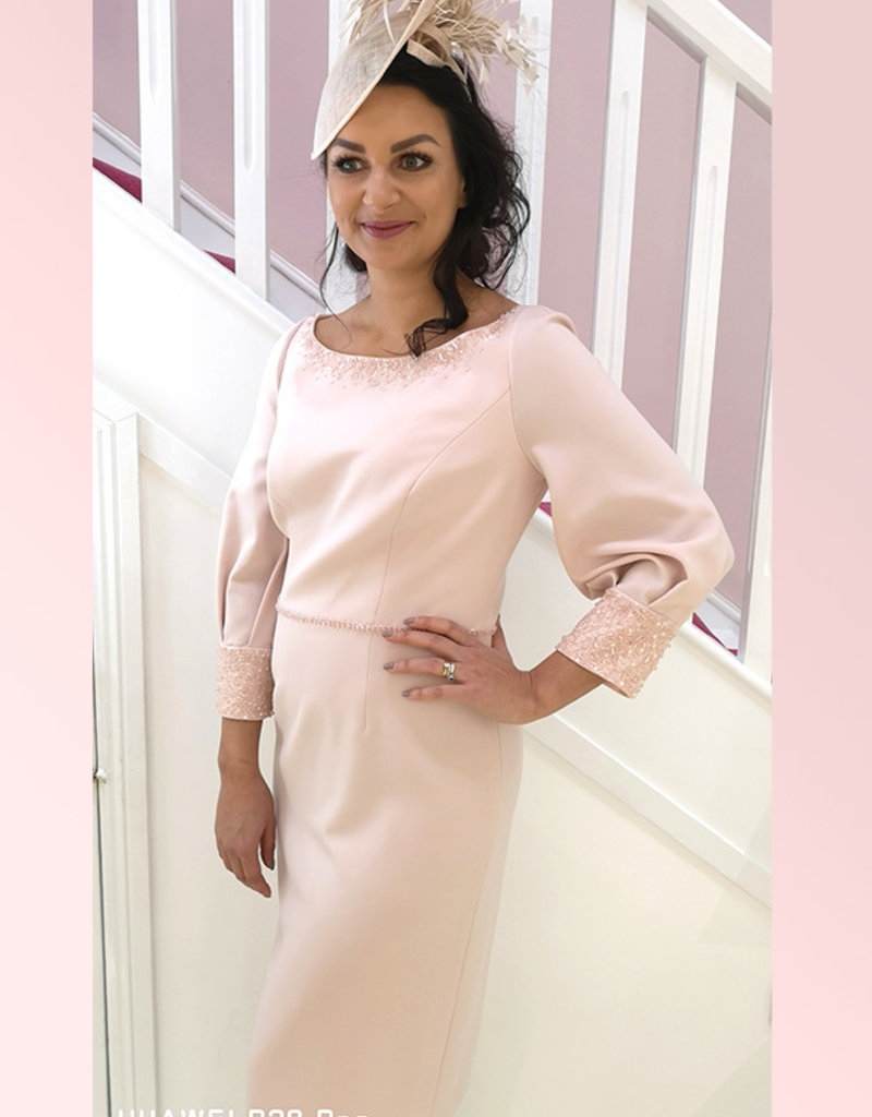 Alandar Park Limited Dress with Sequinned Cuffs