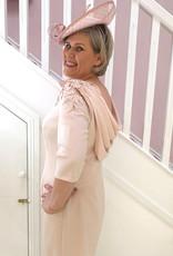 JOHN CHARLES Dress With Draped Back