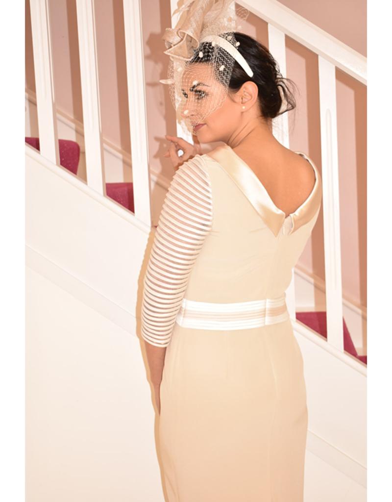 Veni Infantino Almond & Ivory Dress