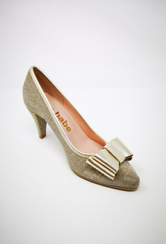 LA BABE Galassia New Gold Shoe