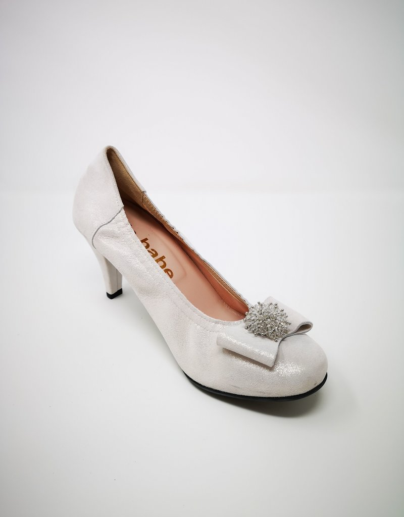 LA BABE High Heel With Bow On Toe