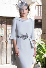 Carmen Melero Dress With Peplum Detail