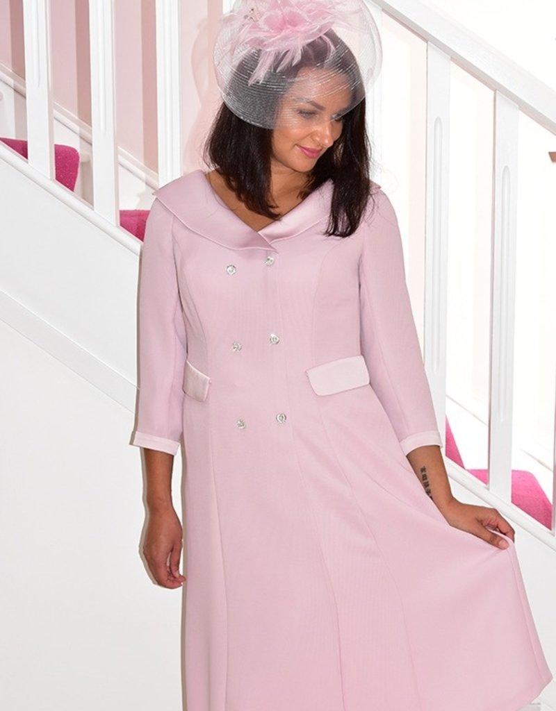 Carmen Melero Dress With Diamond Button