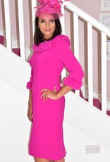 GIORGIA JO Dress with Fur Effect Detail