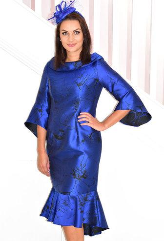 VEROMIA (DRESS CODE) Fishtail Flare Sleeve Dress