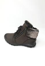 GABOR Rollingsoft Nubuck Boot With Side Zips