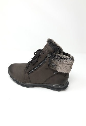 GABOR Rollingsoft Nubuck Boot With Side Zips