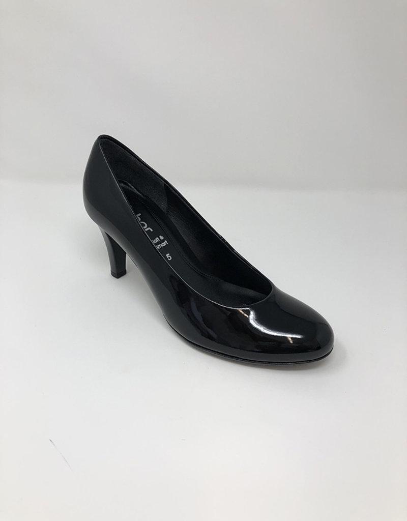 GABOR Patent Black High Heel
