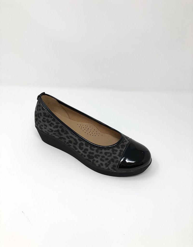 GABOR Leopard Print Shoe