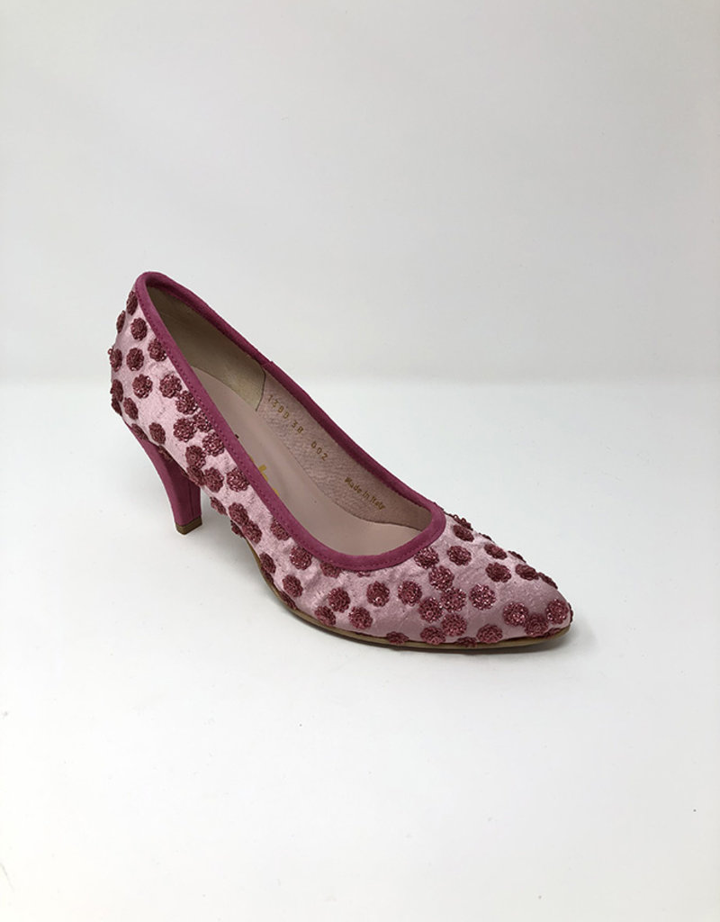 LA BABE Shoe With Sequinned Detail